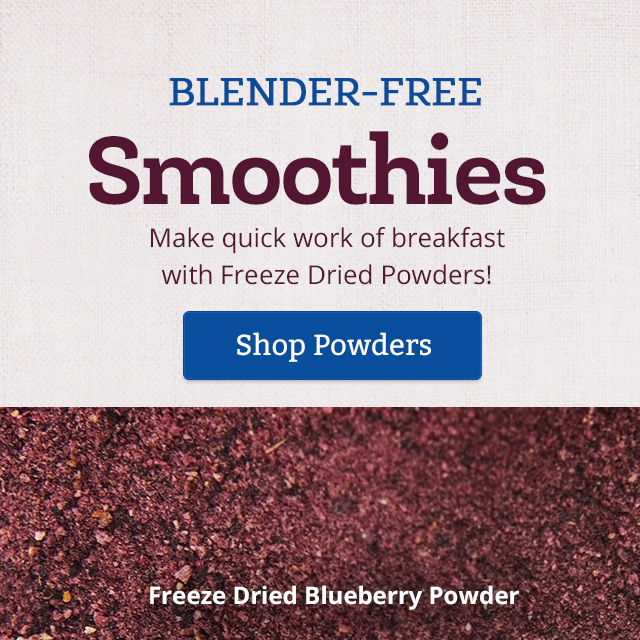 Blender-Free Smoothies Made Easy - Shop Powders
