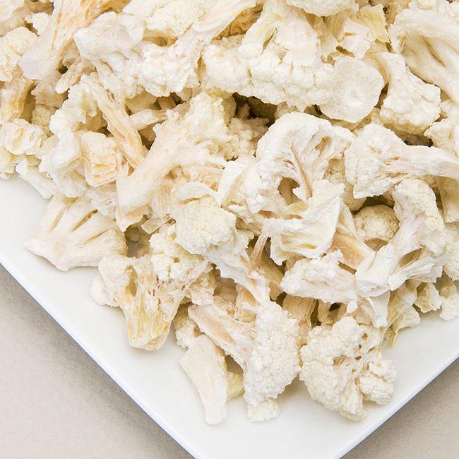 Freeze Dried Cauliflower Florets and Stems