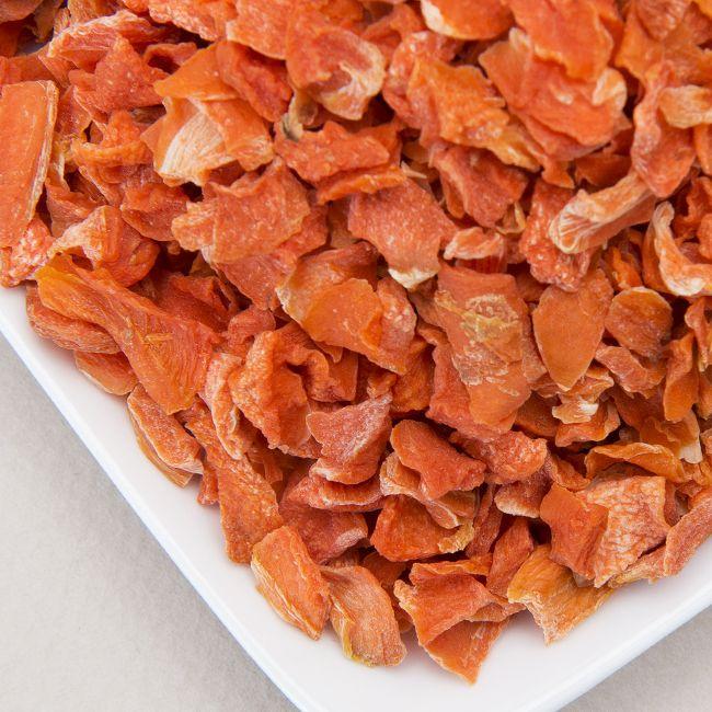 Air Dried Organic Carrot Flakes