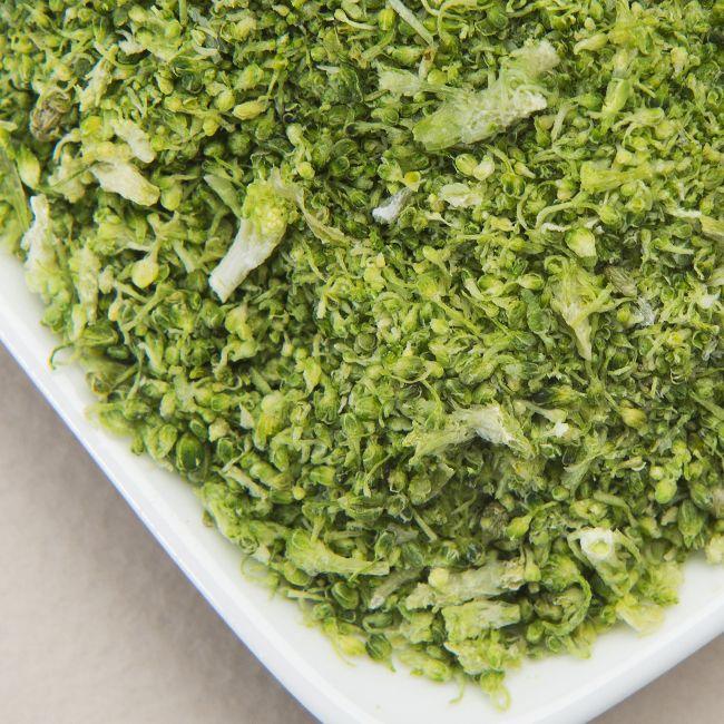 Freeze Dried Broccoli Bits & Powder