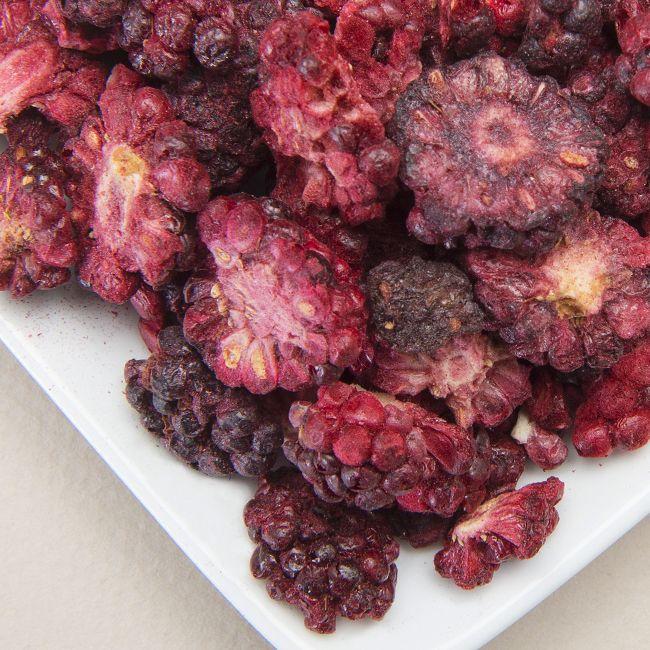Freeze Dried Organic Blackberry Bits & Slices