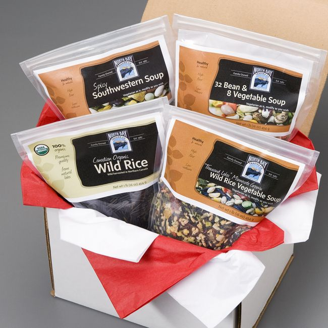 Wild Rice and Soup Gift Box