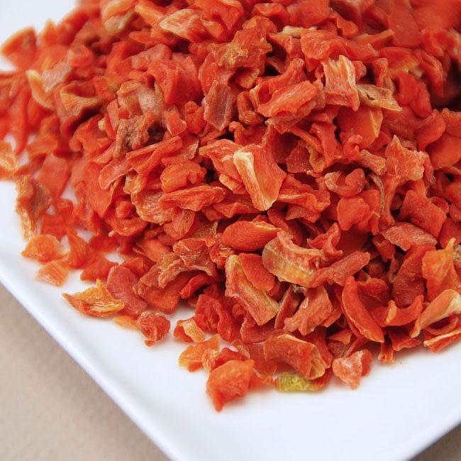 Air Dried Carrot Flakes