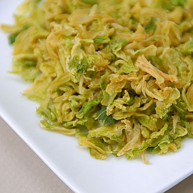Air Dried Cabbage