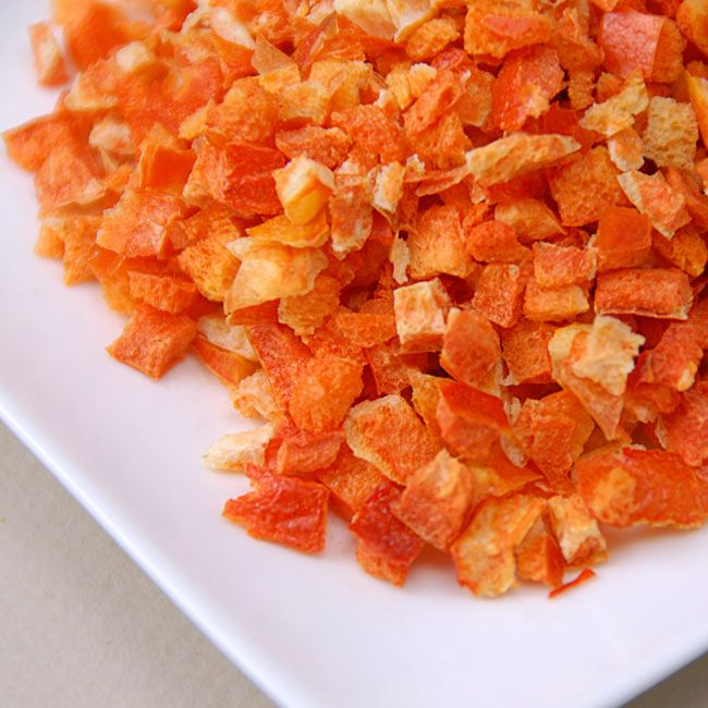 Freeze Dried Red Bell Peppers