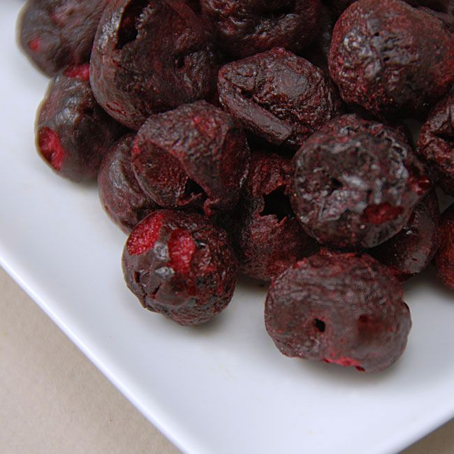 Freeze Dried Organic Whole Tart Cherries