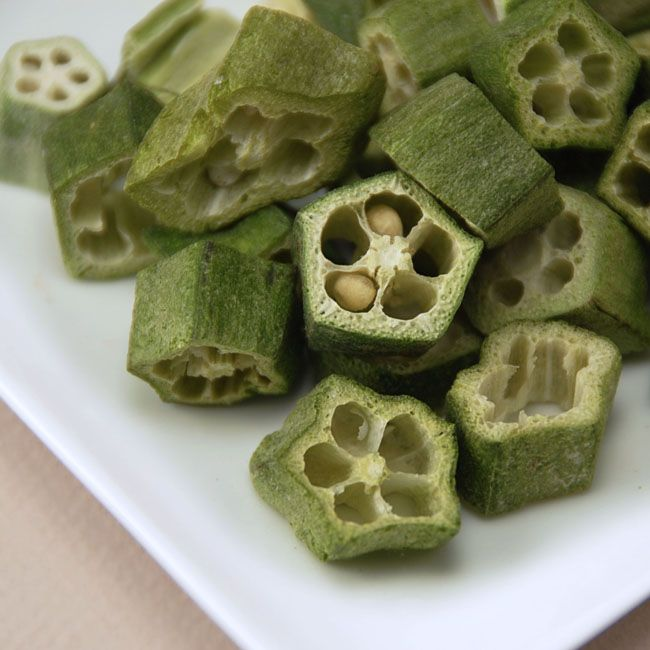 Freeze Dried Okra