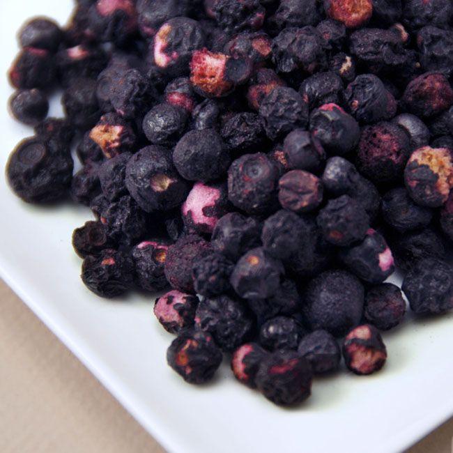 Freeze Dried Organic Wild Blueberries