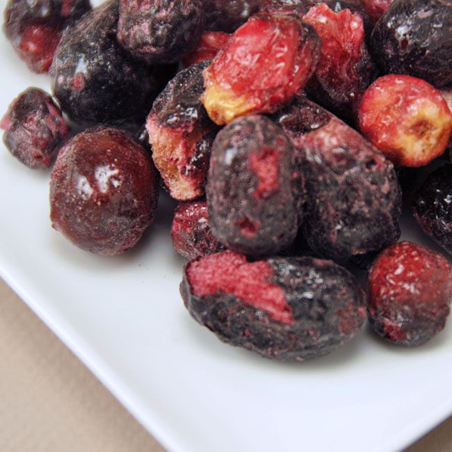 Freeze Dried Red Seedless Grapes
