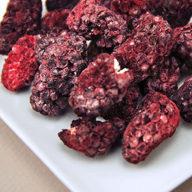 Freeze Dried Whole Organic Blackberries