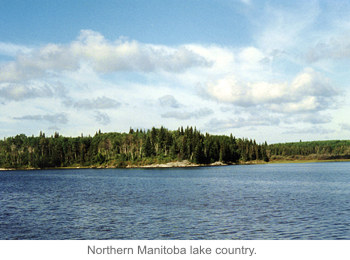 Northern Manitoba lake country